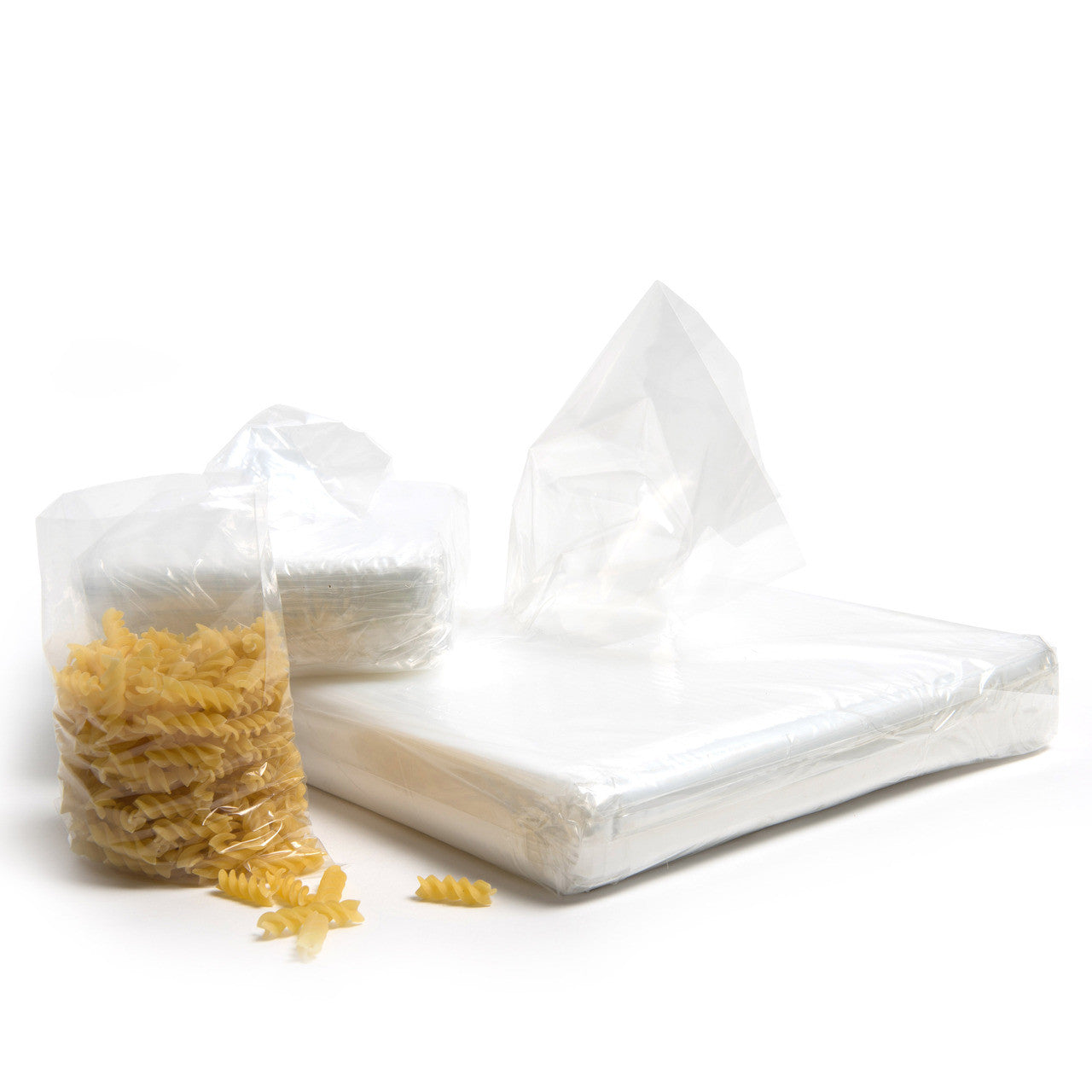500g clear polythene bags