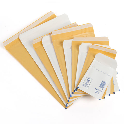 Mailing envelopes - Featherpost bubble lined envelopes.