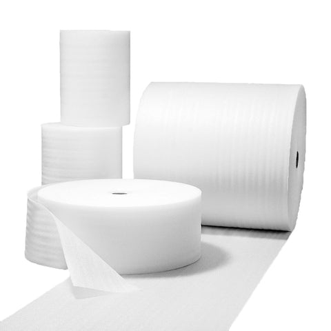 White Foam Wrap Protective Packaging