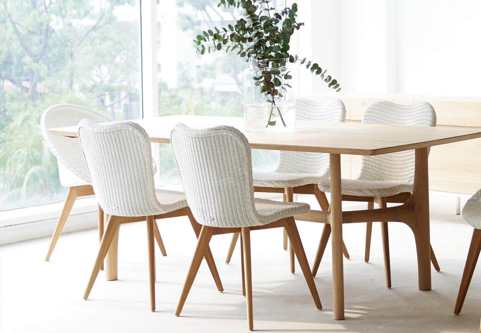 Dining Chairs Lily Teak Pure White Dining Room Originals Furniture