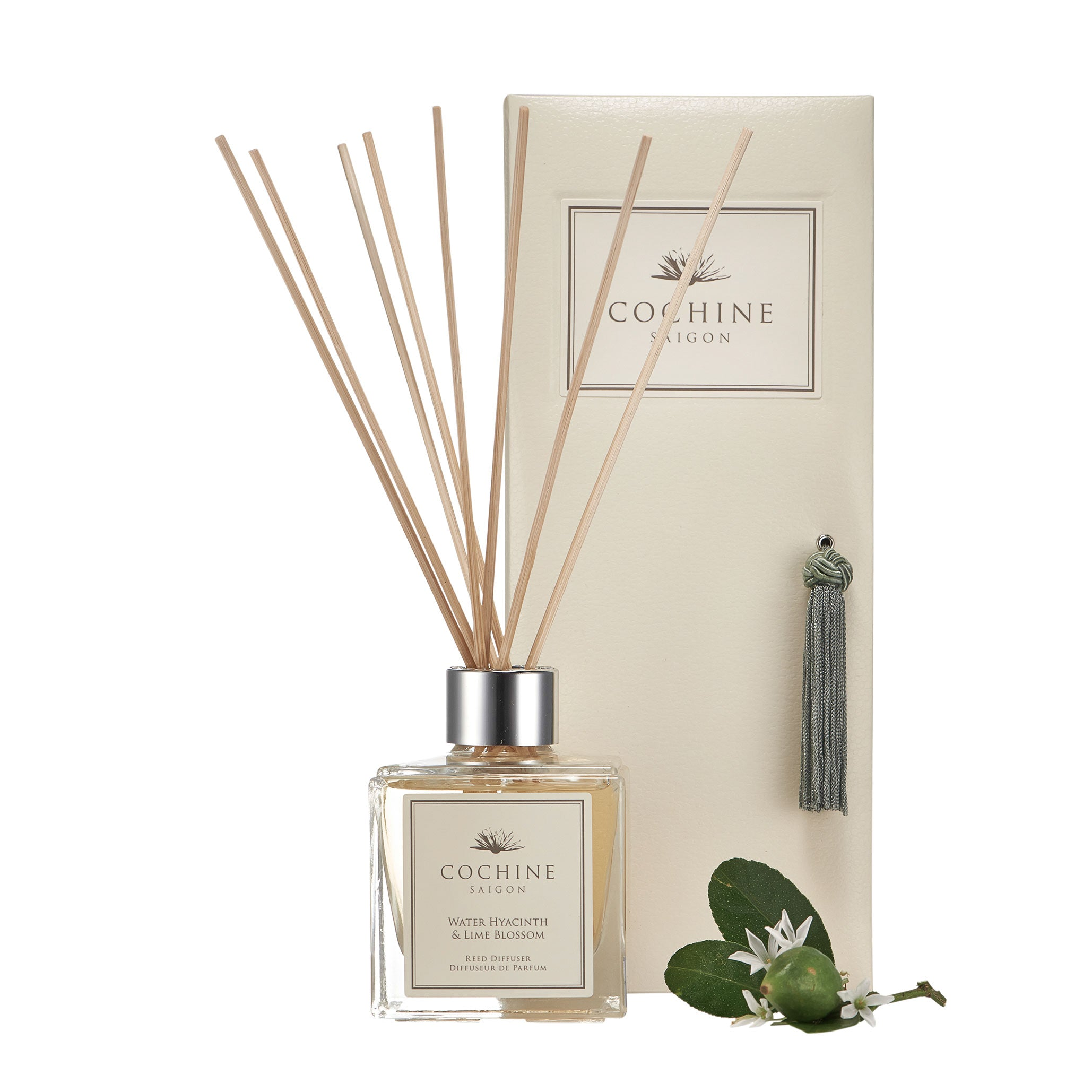 Reed Diffuser | Water Hyacinth & Lime Blossom