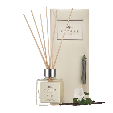 Reed Diffuser | Vanille & Tabac Noir