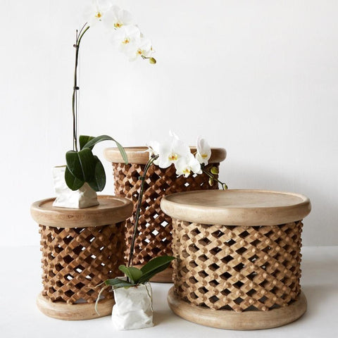 Bamileke Stool | Natural