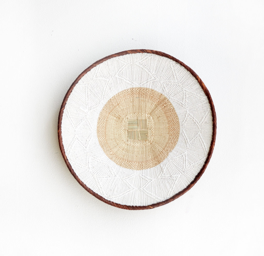 Tonga Baskets in White Stripes-Nomad Tribe-Originals Furniture - 2