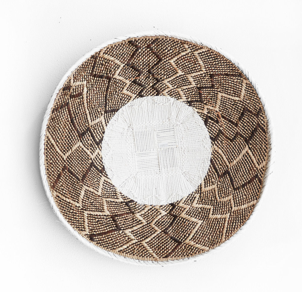 Tonga Baskets in White Stripes-Nomad Tribe-Originals Furniture - 3