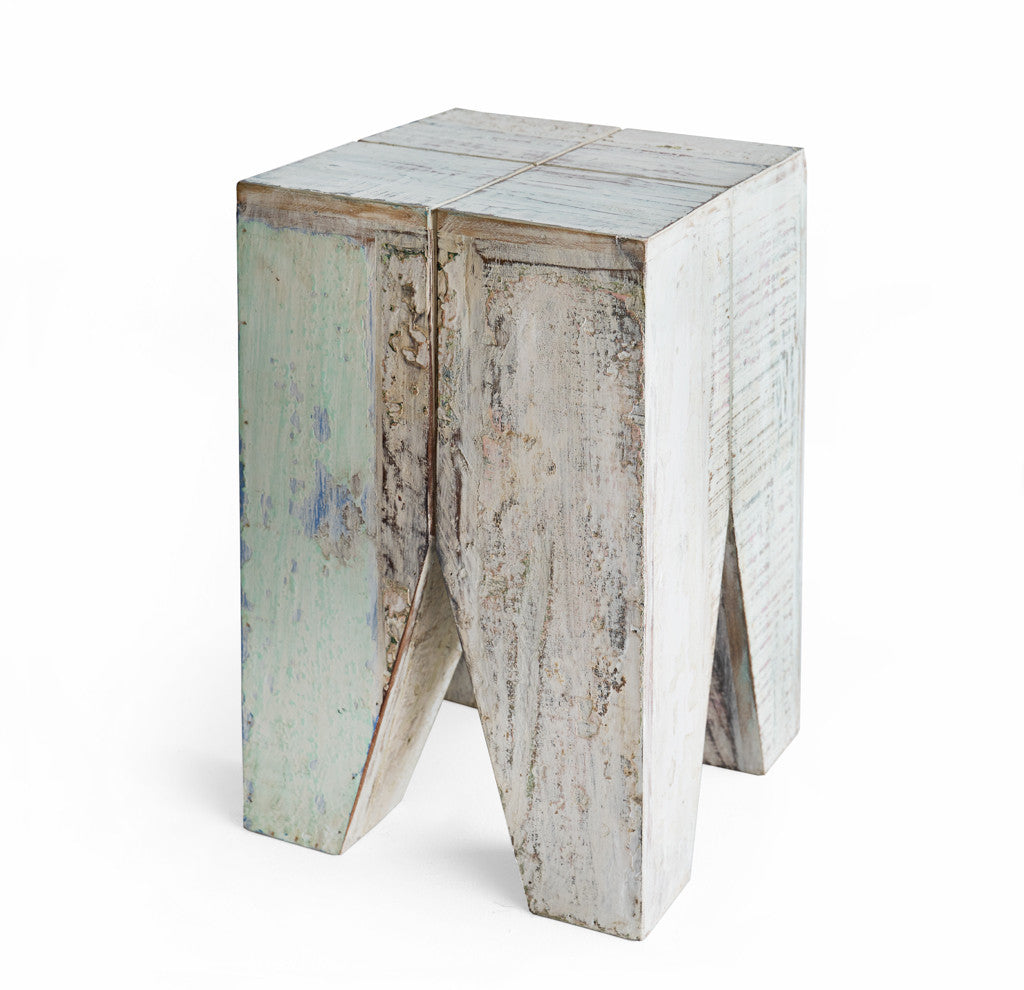 Indian Stool Recycled