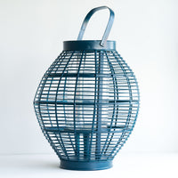 Bamboo Lantern | Lumpur - Blue/Large - Originals Furniture