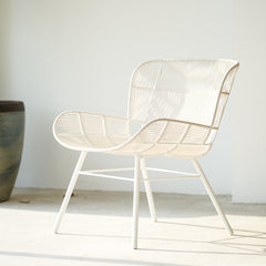 Outdoor Lounge Chair | Rose - Chalk