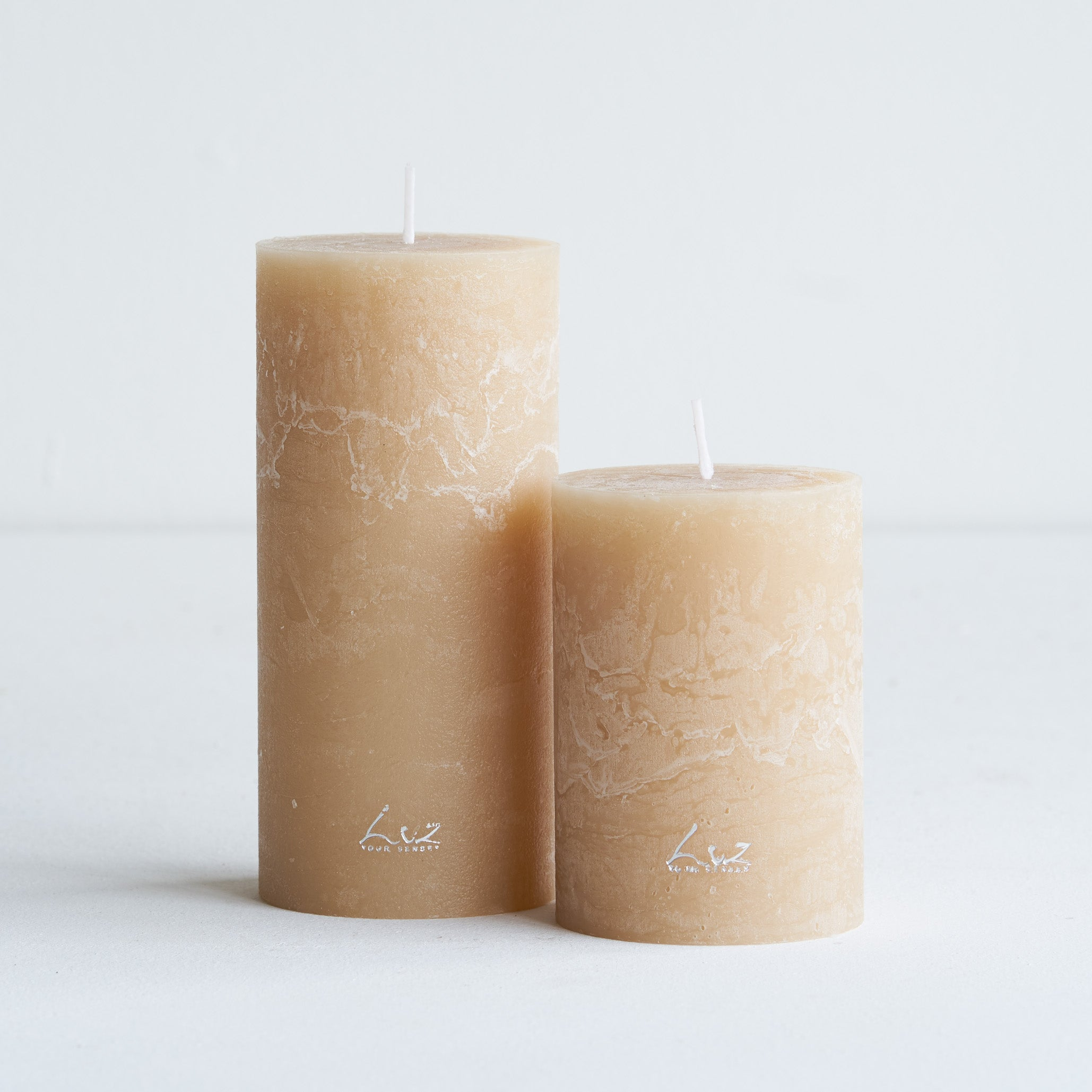 Rustic Candle | Latte - Large
