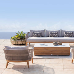 Outdoor Armchair | Avalon - Silver Grey