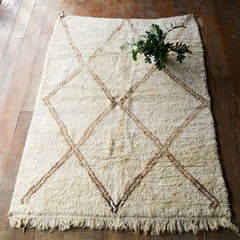 Berber Rug Brown Diamond