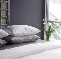Linen Duvet Set | White