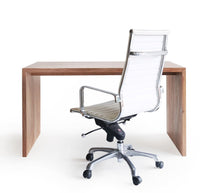 Office Chair | White Leather - Originals Furniture