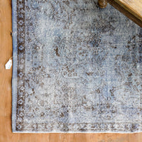 Vintage Rug | Floral Grey W306 x L188 cm - Originals Furniture