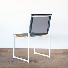 Breeze Sidechair White