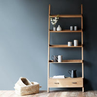 Wally Shelf | 4 shelves / 1 Drawer - Originals Furniture