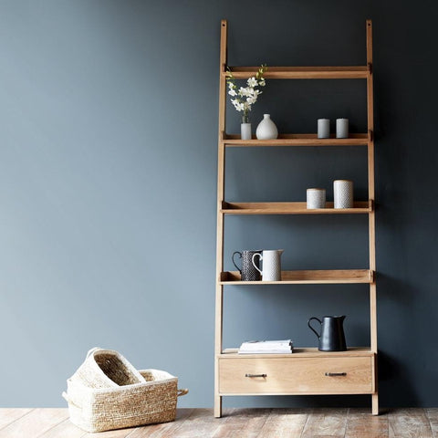 Wally Shelf | 4 shelf, 1 drawer