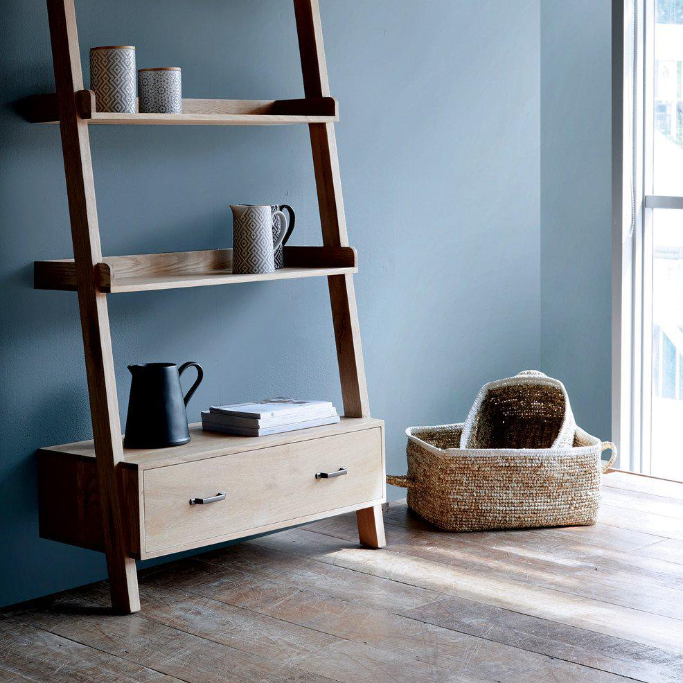 Wally Shelf | 4 shelf, 1 drawer-Nomad Home-Originals Furniture - 2