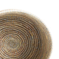 Flat Lid African Baskets | Grey