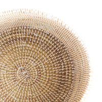 Flat Lid African Baskets | White - Originals Furniture