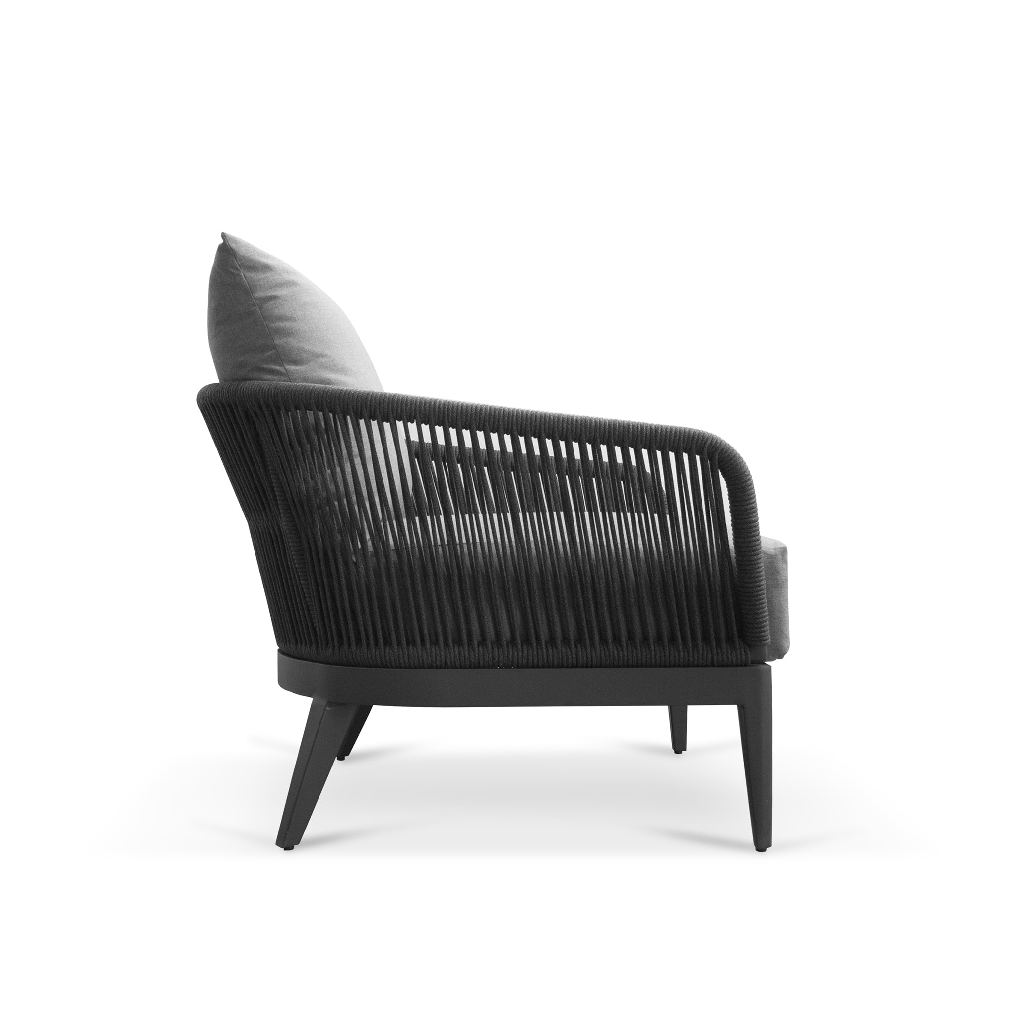 Outdoor Armchair | Hamilton - Black
