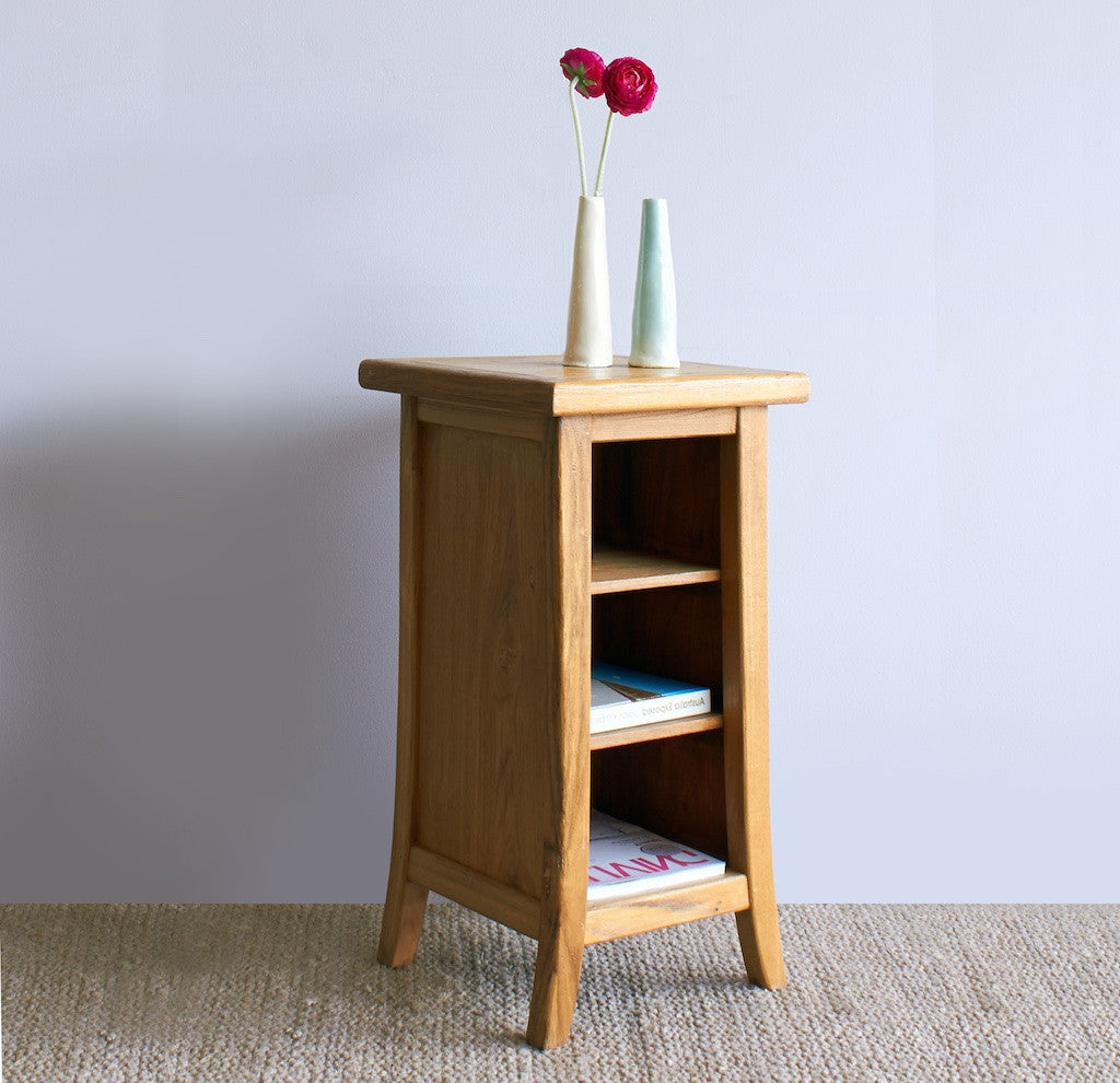 Teak Bedside Table | Tall-Nomad Village-Originals Furniture - 2