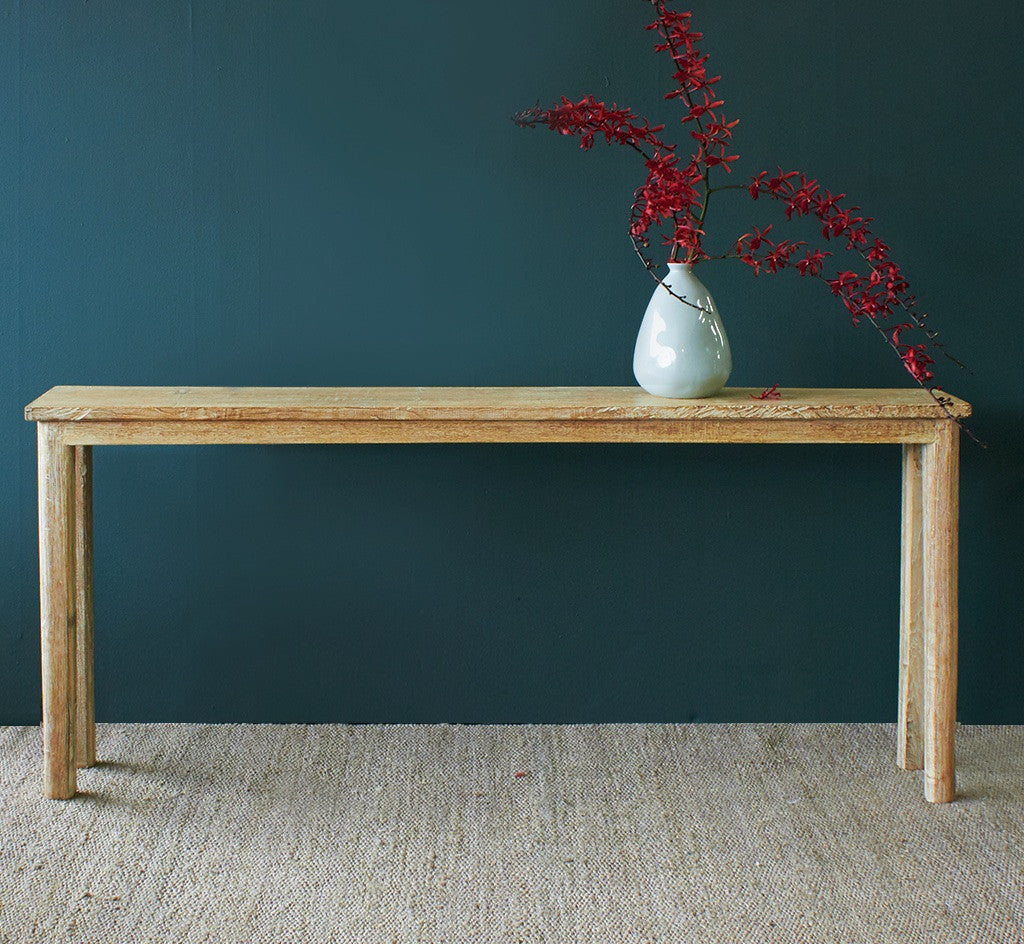 Java Teak Console | Whitewash - Nomad Village - Originals Furniture - Singapore - 2