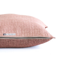 Cushion Quilted Linen | Rosewood - Originals Furniture