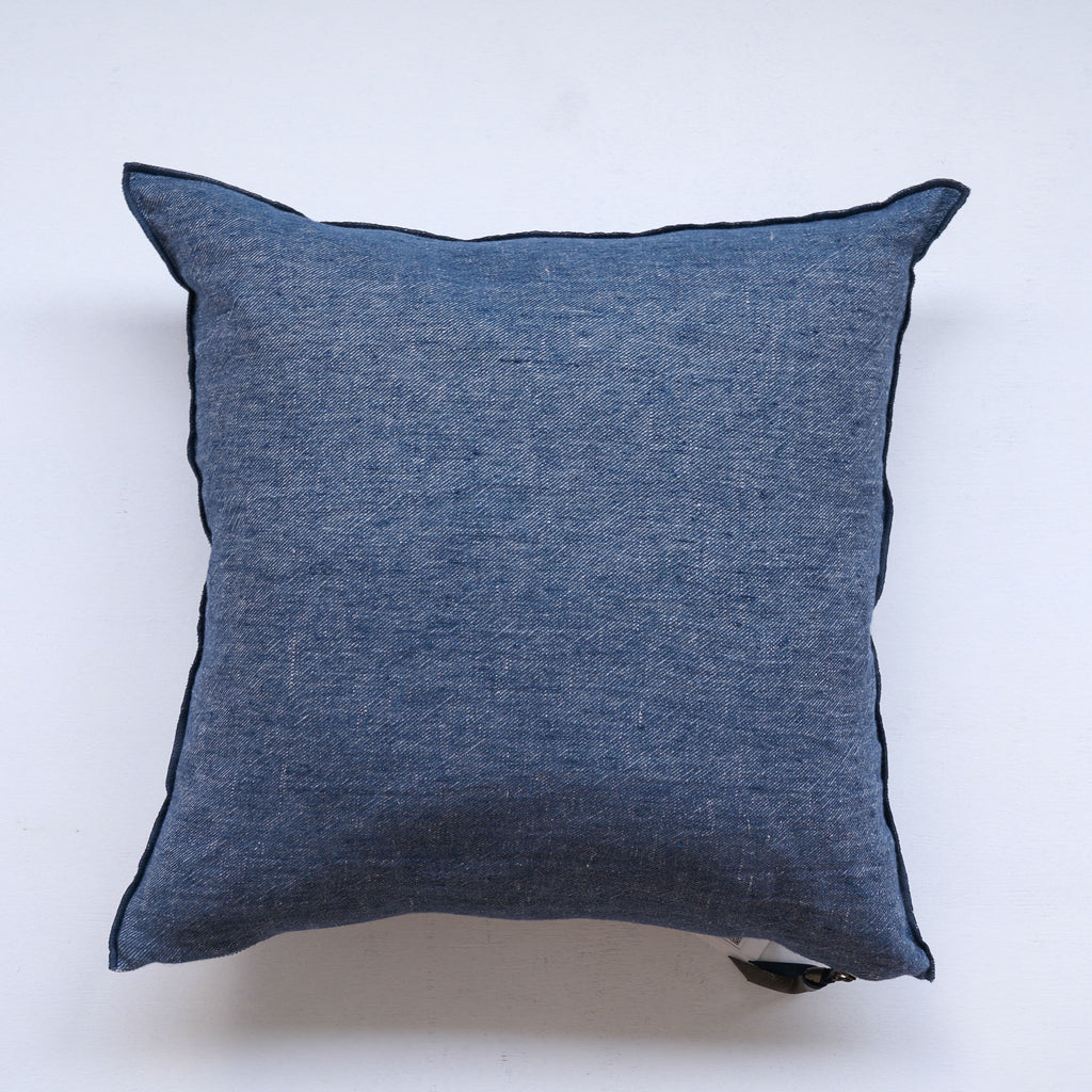 Cushion VV Linen | PetrolBlue