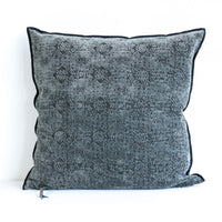 Cushion Jacquard | Kilim Charcoal - Originals Furniture