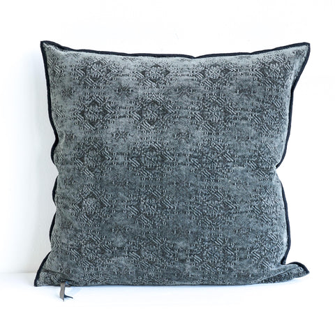 Cushion Jacquard - Kilim Charcoal