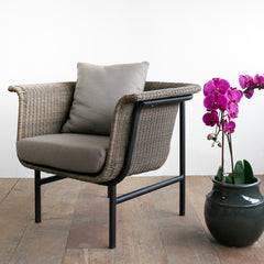 Outdoor Armchair | Wicked - Taupe/Coconut