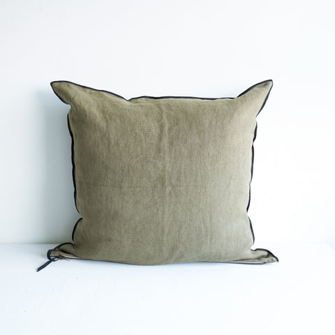Cushion Stone Linen - Kaki_65