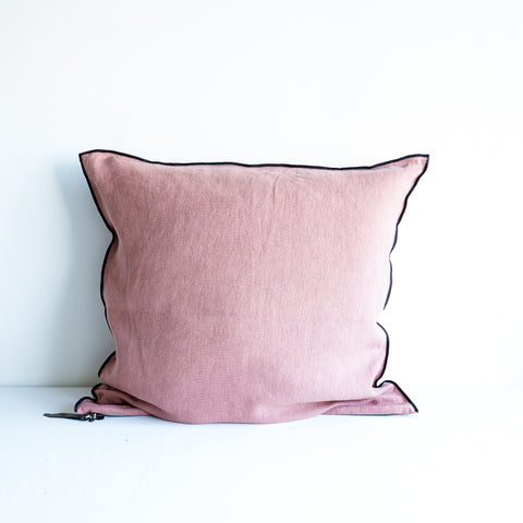 Cushion Stone Linen - Rosewood-65
