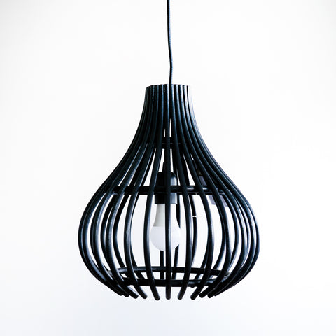 Hanging Lamp | Mini Bulb Black