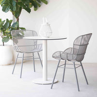 Outdoor Dining Chair | Rose - Grey - Originals Furniture