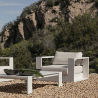 Outdoor Armchair | Hayman White - Originals Furniture