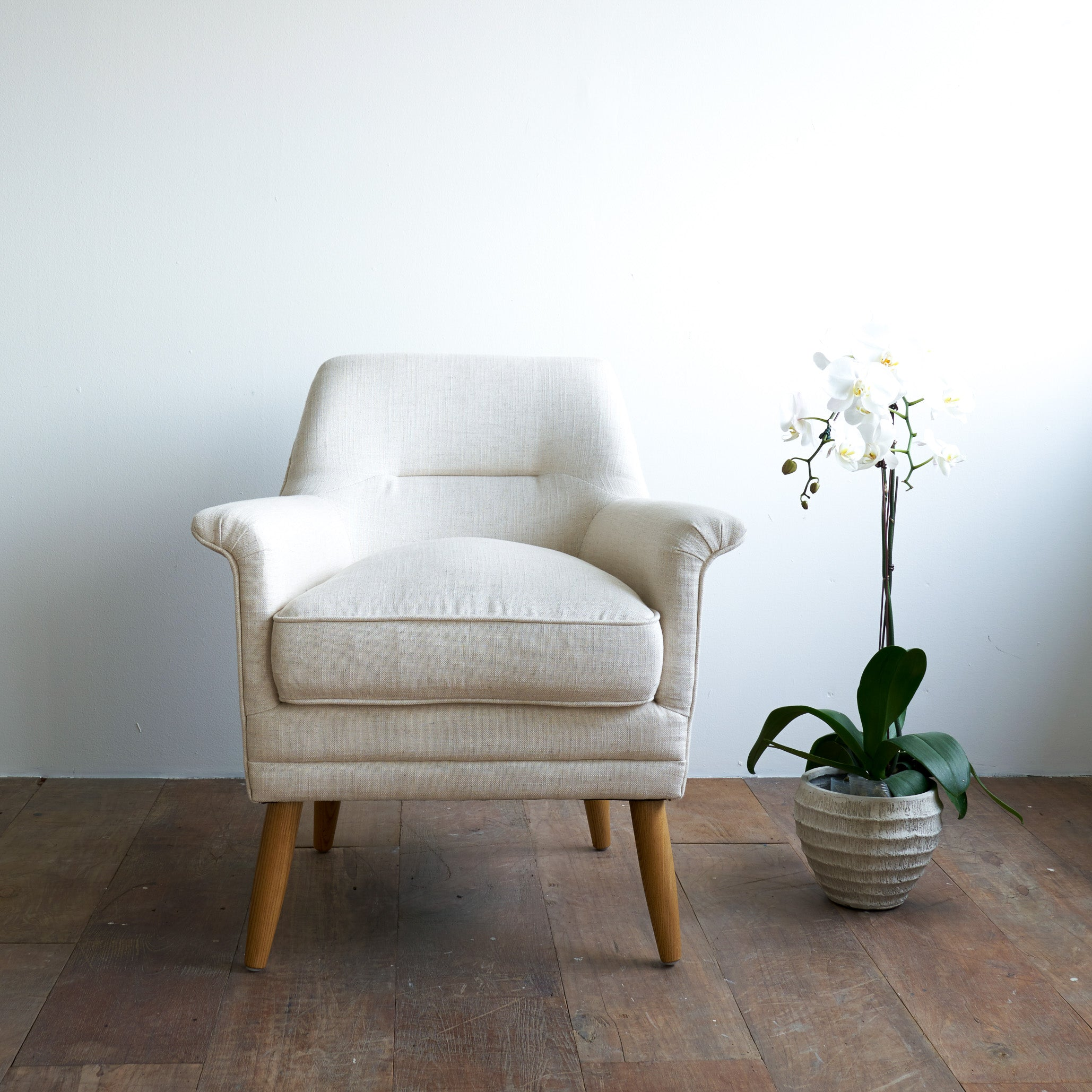 Fabric Armchair | Perry - Oatmeal