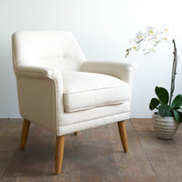 Fabric Armchair | Perry - Oatmeal - Originals Furniture