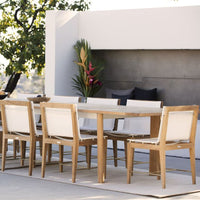 Outdoor Dining Chair | Byron - White - Originals Furniture