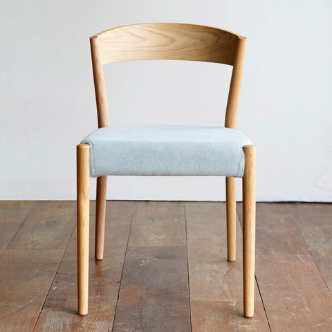 Oak Dining Chair | Ronda Ice Blue