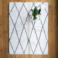 Berber Carpet Medium | White