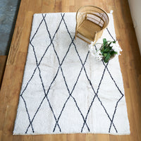 Berber Carpet Large | White - Originals Furniture