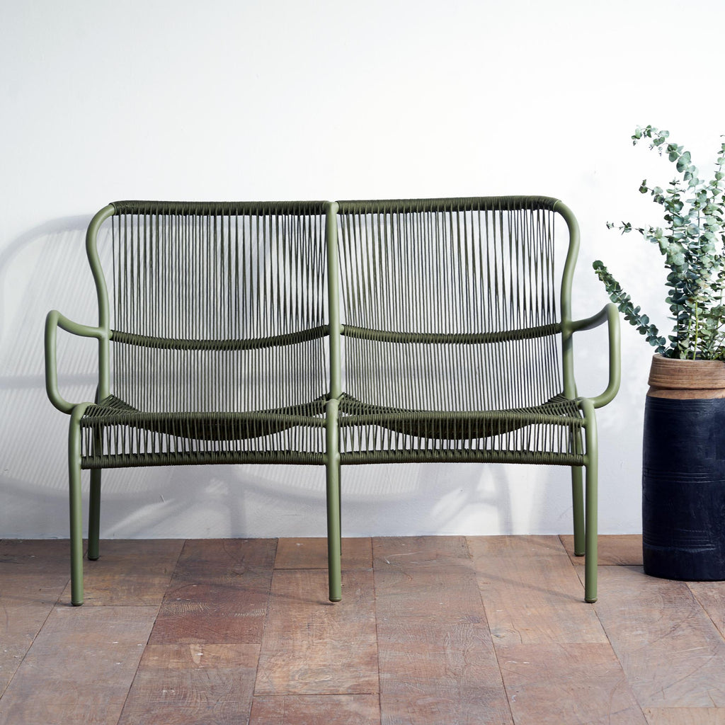 Outdoor Sofa | Loop - Rope Moss