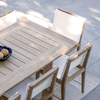Outdoor Dining Chair | Byron - White