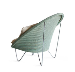 Joe Lounge Chair | Aqua MW