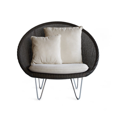 Cocoon Chair | Joe - Dark Grey Wash