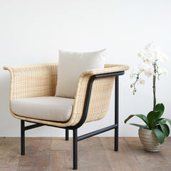 Outdoor Armchair | Wicked - Natural/White