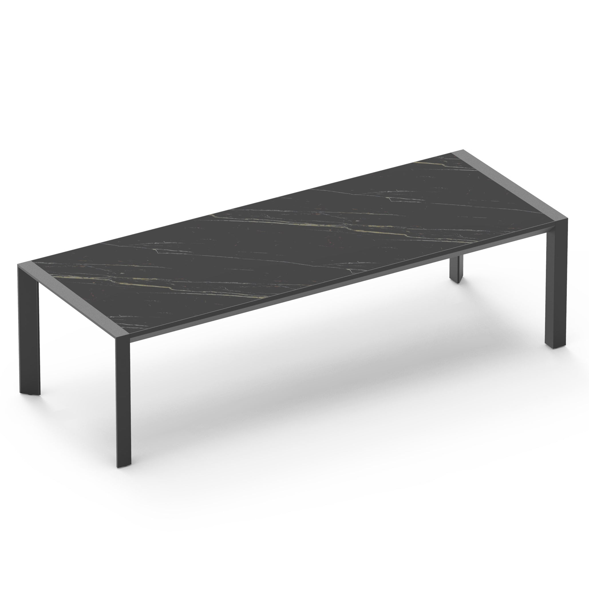 Vaucluse Outdoor Dining Table | Black