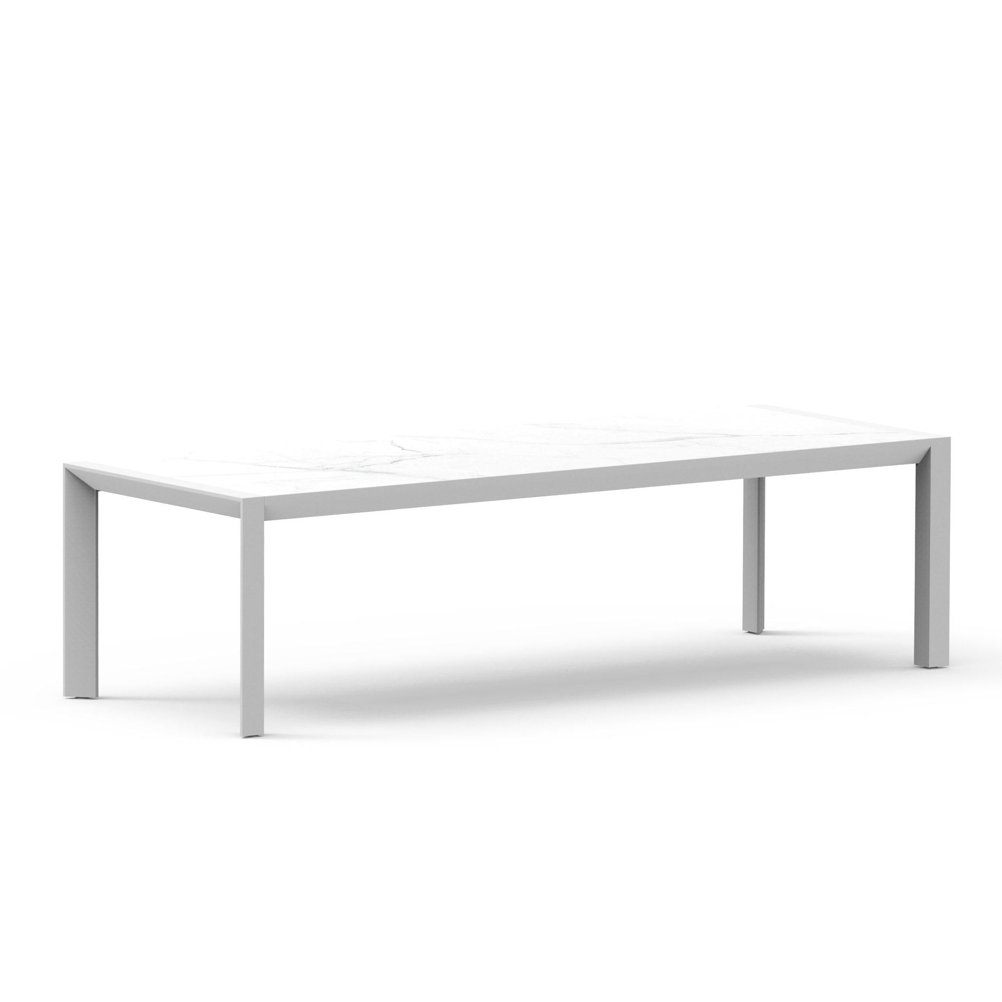 VAUCLUSE Outdoor Dining Table | White